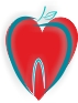 Herz-Logo Kinderzahnarzt Ekimov, Düsseldorf Eller